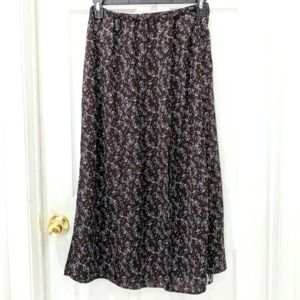 Koos Of Course! Vintage Skirt with Floral Lining S